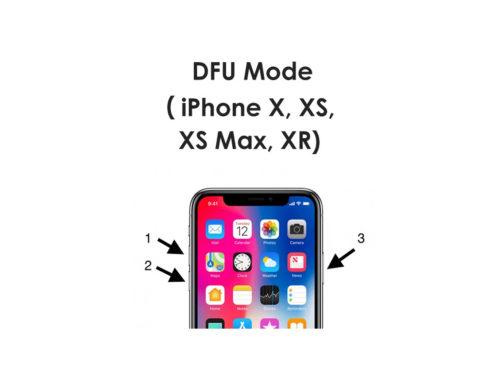 Перевод устройства Apple в режим DFU